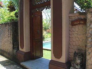 Entry to Villa Via