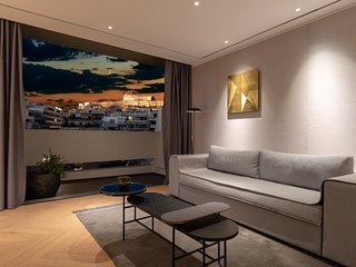 Acropolis View Designers Penthouse by Urban Stripes Athens