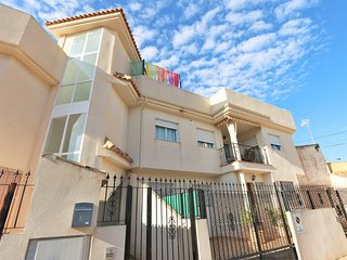 VDE-056 Penthouse in Lo Pagan 400 m from beach with private roof terrace