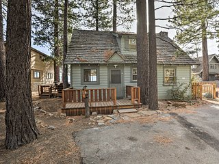 NEW! Beachfront Tahoe Cabin, 8 Miles to Northstar!