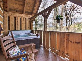 Honey Bear Pause: Rural Escape w/ Porch & Hot Tub!