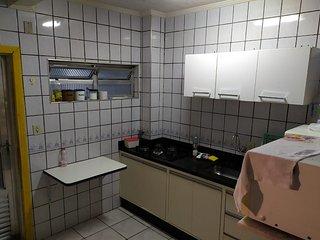 Apartamento Vila caicara Terreo para ate 5 Pessoas (2 Min da Orla da Praia)