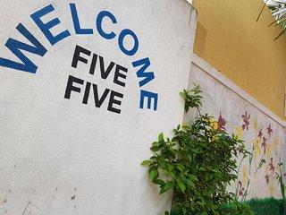 Villa five five with sea view