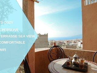 plage a 5 min, appart terrasse Vue mer ideal famille/surfeur village typique
