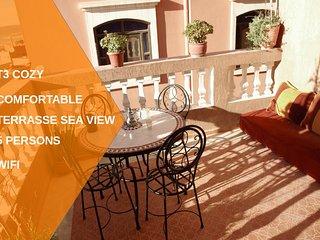 plage à 5 min, appart 60 m² terrasse mer idéal famille/surfeur village typiqu