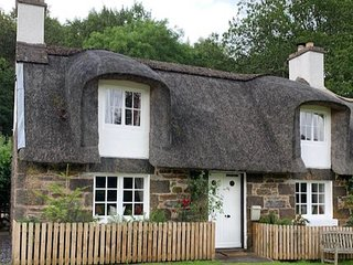 A Fairytale Thatched Highland Cottage