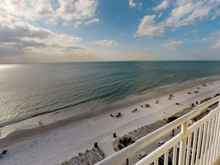 Picture Perfect Views From Every Window!  Corner Unit on Sunset Beach in Treasur