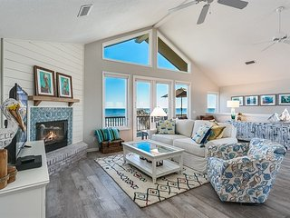 Pelican Place, beautifully remodeled 3 bedroom, 3 bath oceanfront home