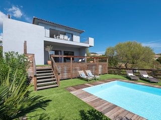 Great villa with sea view and swimming pool at 3 km from the beaches - Granajolo