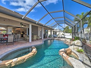 NEW! Expansive Cape Coral Retreat w/ Lagoon Pool!