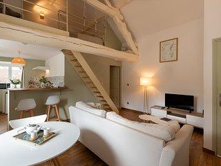 Marie -M comme Meursault - Appartement Duplex au ceour du village