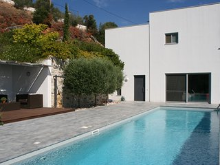 Villa Nafsika with a stunning View to the Aegean Sea