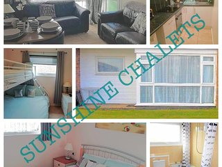 Sunshine chalet Hemsby luxury chalet at competitive price