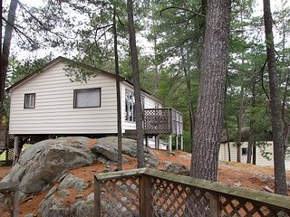 Cottage #2 2 bedroom waterfront cottage on Trout Lake in Alban, Ontario
