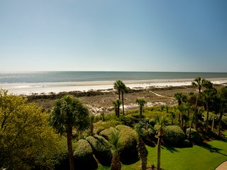 Stunning, oceanfront, Palmetto Dunes Resort condo w/ shared pools & amazing view
