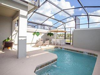 Gorgeous 4 Bedroom w/ Pool Close to Disney 4836
