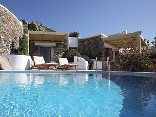 Villa 'Cave' Infinity Pool  - Villa Paradise Hotel Naxos