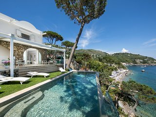 Nerano Villa Sleeps 8 with Pool Air Con and WiFi - 5827047