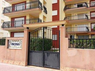 Preciosos Apartamentos Ondina  en La PRIMERA LINEA de Playa de Gandia