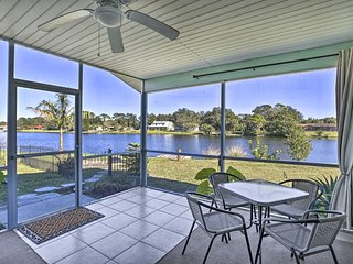 NEW! North Port Home w/ Lakefront Lanai Near BCH!