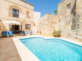 Xewkija Villa Sleeps 6 with Pool - 5812126