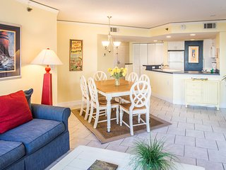 Adorable oceanside condo w/ shared pool, hot tub, & sauna - steps to the beach!