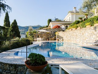 Santa Margherita Ligure Villa Sleeps 10 with Pool and Air Con - 5822420