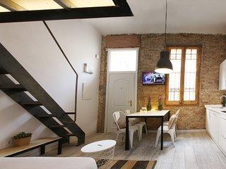 Grey House. Near Fira de Barcelona