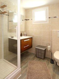 Salle de douche + wc