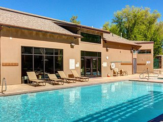 Outdoor Pool at this Couples Retreat with Private Entrance and Heated Pool/Hot