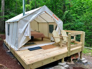 Tentrr Signature Site - Gorges Hideaway at Little Leaf Farm
