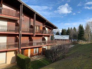 600m des pistes ! Bel Appart avec Cuisine, Terrasse + Casiers à ski