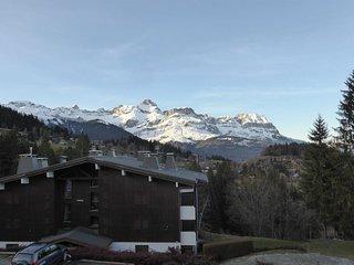Vue Montagnes ! Grand Appartement équipé à 600m des pistes