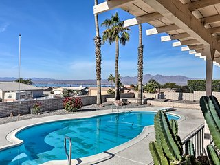 Private Oasis w/Pool & Views, 2 Mi to Lake Havasu!