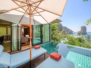 Railay Beach Villa Sleeps 3 with Pool and Air Con