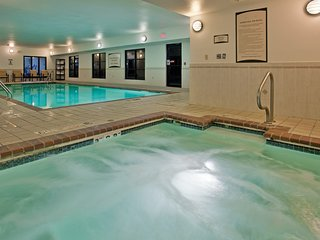 King Suite near the University of Missouri | Fitness Center + Free Daily