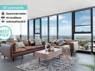 St Leonards Luxury 4Bed APT 5MIN to Station NSL001
