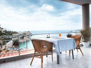 Amazing seaview villa 200 metres from the beach