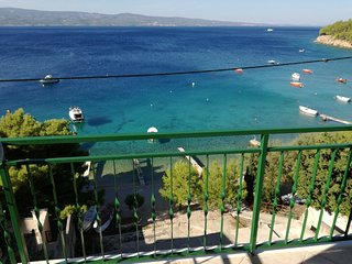 House Karlo Apartments - One-Bedroom Apartment with  Balconies and Sea View (A5)