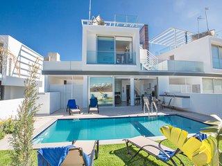 Protaras Olivine Villa OL25, 2 Bedroom with pool, roof garden and sea views