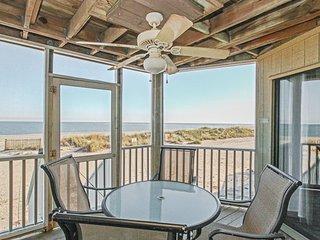 Modern first-floor villa w/unbeatable, expansive ocean views & shared pool!