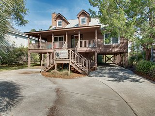 Centrally located home w/ secluded yard, free WiFi, and wraparound porch!