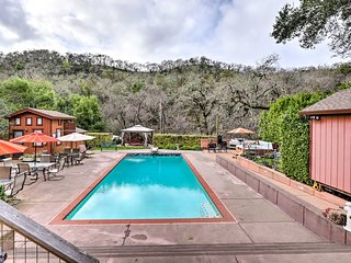NEW! Private Creekside House: Wine Country Retreat