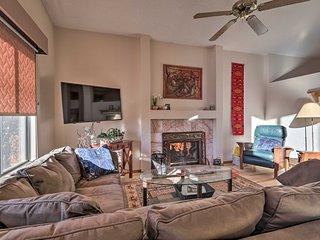 NEW! Flagstaff Retreat w/ Fireplace, Deck & Yard!