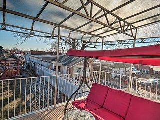 NEW! Elizabeth Home w/Balcony, Walk to NYC Transit