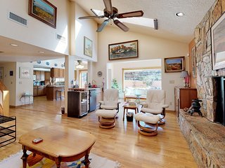 NEW LISTING! Large & bright Sedona home with private grill and furnished patio