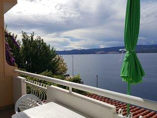 Nina - sea view family apartments A6(4) - Celina Zavode