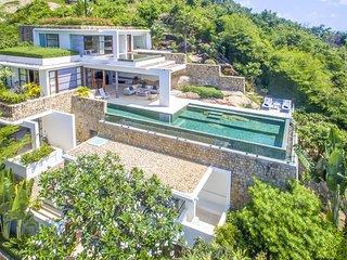 Choeng Mon Beach Villa Sleeps 8 with Pool - 5778288
