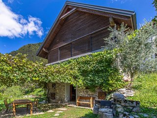 Beautiful home in Tolmin w/ Jacuzzi, WiFi and 1 Bedrooms (SER015)