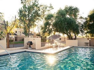 Cool, Chic Tucson Retreat | Hot Tub/Pool, Ground floor, Central